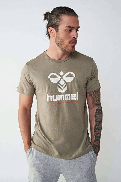 HMLCENTIL T-SHIRT S/S Yeşil Erkek T-Shirt 101086300