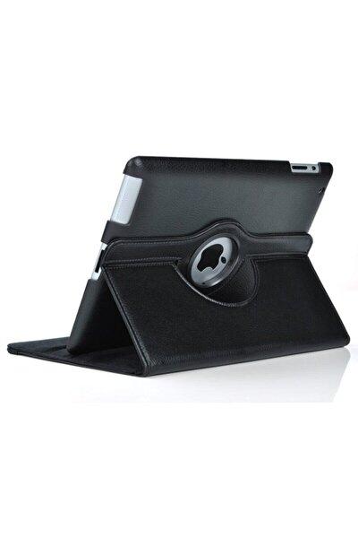 "Apple Ipad 8.nesil 10.2"" Kılıf Dönebilen Standlı Case A2270 A2428 A2429 A2430 Siyah"