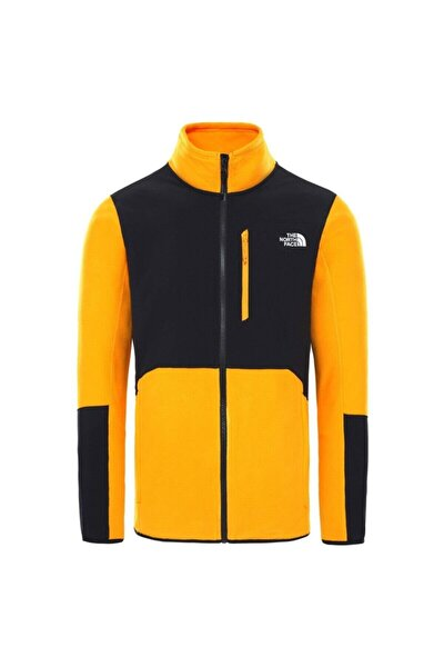Erkek Siyah Sarı Glacıer Pro Fz Ceket Nf0a3yfyzu31