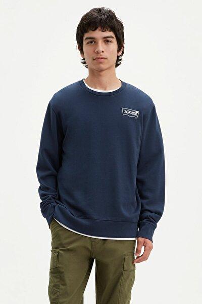Erkek Graphic Crew Sweatshirt 19492-0087