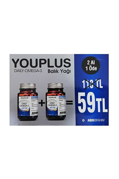 You.plus Daily Omega-3 2li Avantaj Paket