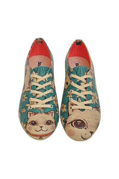 Çok Renkli Kadın Ayakkabı DGOXF017-508