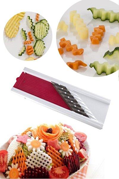 Cipser Patates Ve Sebze Rendesi Şekilli Kesici Doğrayıcı Dilimleyici