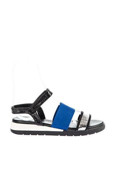 Mavi Kadın Sandalet