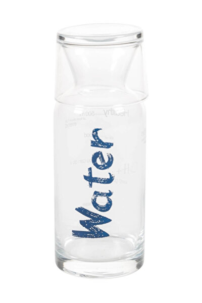 Water Mavi Kapaklı Başucu Sürahisi - 700 Ml 1185823001