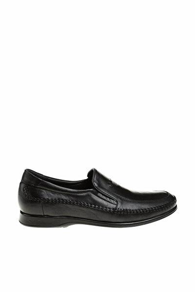 Hakiki Deri Siyah Erkek Comfort Ayakkabı 10601