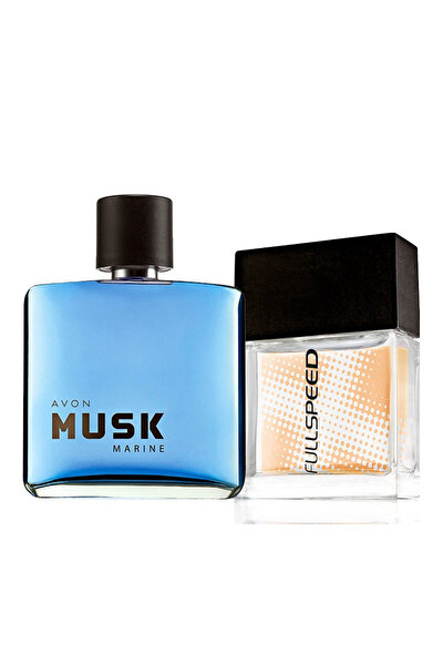 Musk Marine & Full Speed 2'li Erkek Parfüm Seti 8681298982883