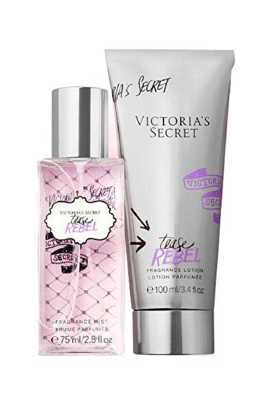 Tease Rebel 75 ml Vücut Spreyi + 100 ml Vücut Losyonu Kadın Parfüm Seti 667548390590