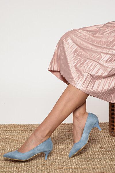 Mavi Kadın Topuklu Ayakkabı 17K 1951