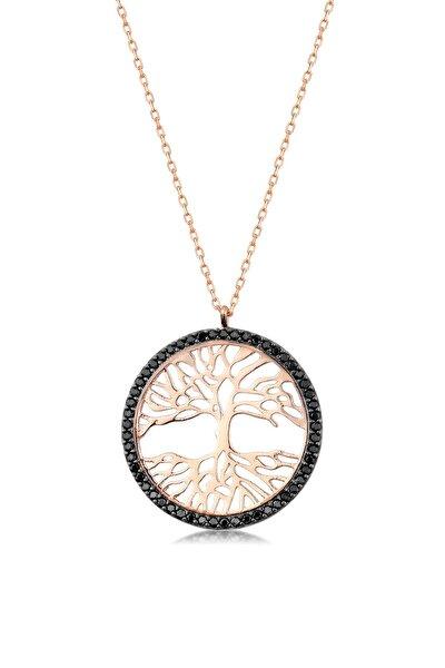 Kadın 925 Gümüş Hayat Ağacı Kolye