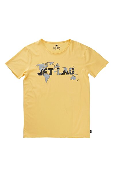 Sarı Erkek Tişört JETLAG TEE LEMON