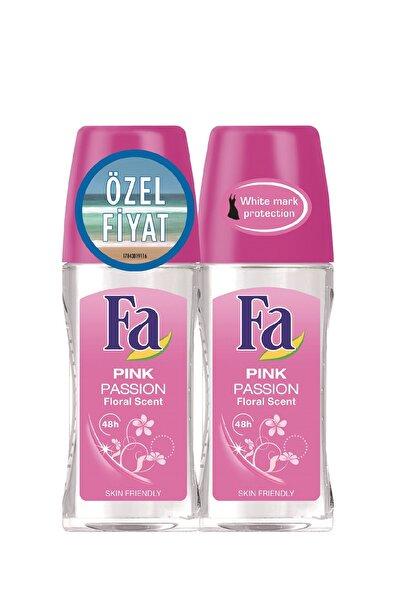 Pink Passion 2'Li Kadın Deodorant Roll-On 50  ml   + 50 ml