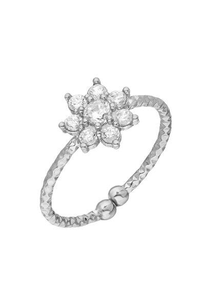 Kadın Gümüş Yıldız Yüzük EG0443
