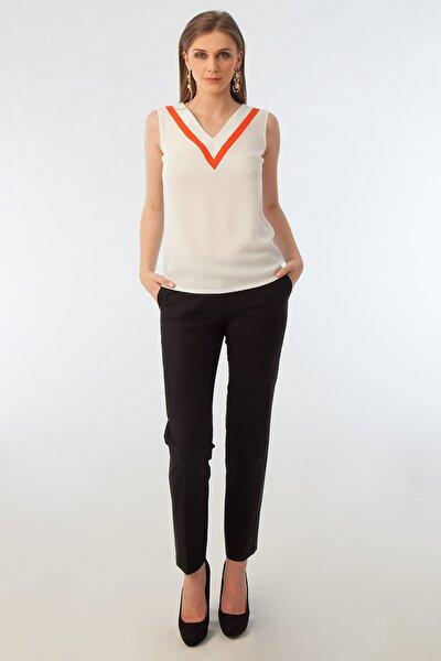 Kadın Beyaz Bluz 16Y11118Y794