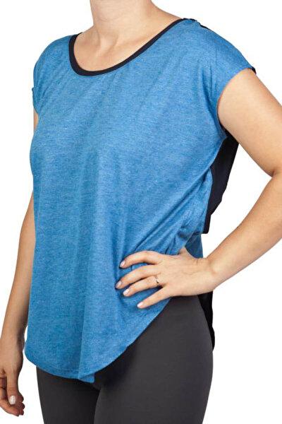 Kadın T-Shirt - Royal Blue Spor T-Shirt - 362203