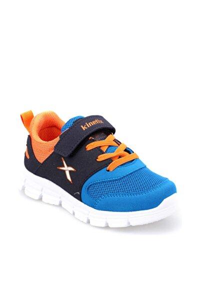 ROYSI Koyu Mavi Lacivert Turuncu Erkek Çocuk Koşu Ayakkabısı 100296782