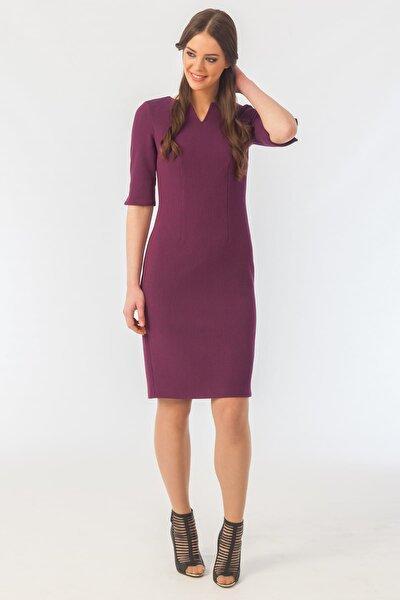 Kadın Fuşya Elbise 16K11112Y693
