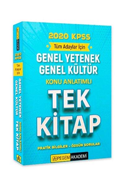 2020 Kpss Genel Yetenek Genel Kültür Konu Anlatımlı Tek Kitap - Kolektif