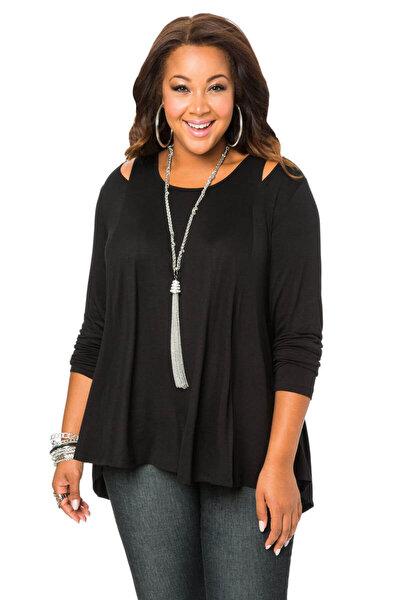 Kadın Siyah Anabella Bluz fw01604fb