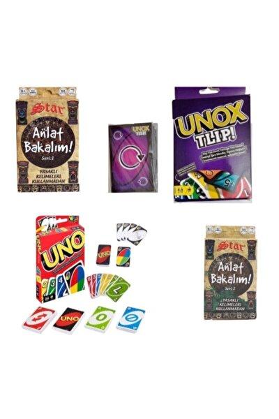 Uno + Unox + Anlat Bakalım 1. Ve 2. Seri Set