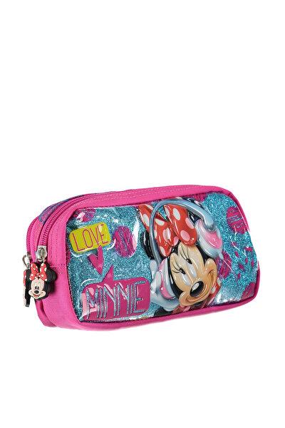 Yaygan Minnie Mouse Kalem Çanta Pembe /