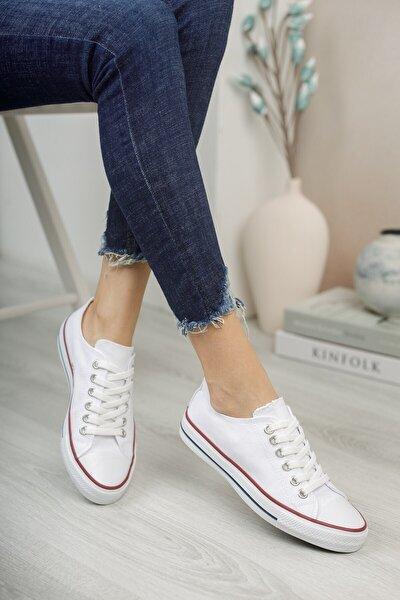Unisex Beyaz Sneaker 0012101