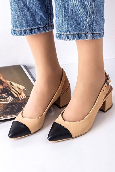 Kadın Nude Laurel Topuklu Ayakkabı