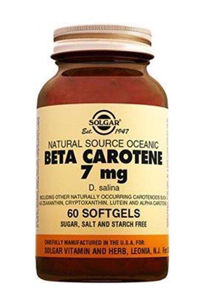 Beta Carotene 7 Mg 60 Softjel