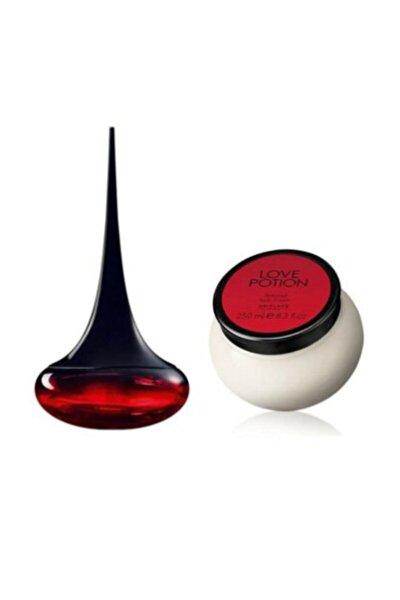 Love Potion 50 Ml Kadın Parfümü  Love Potion Parfümlü Vücut Kremi 250 Ml