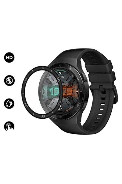 Huawei Watch Gt 2e 46mm 3d Full Kaplama Pc + Pmma Hd Ekran Koruyucu
