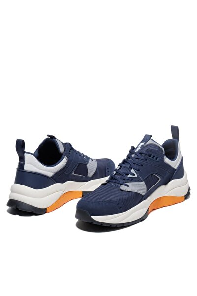 Erkek Lacivert Bağcıklı Sneaker
