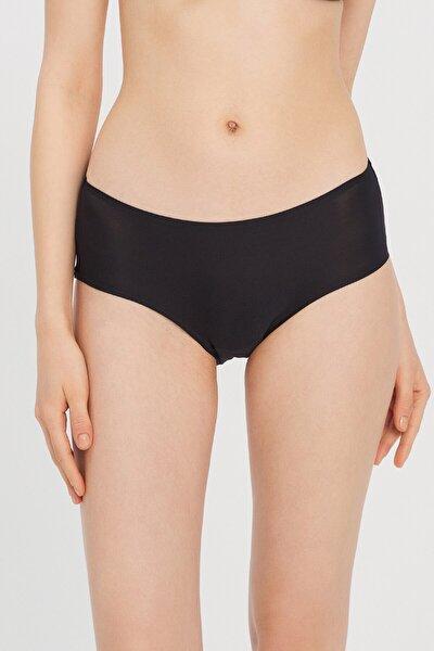 Kadın Siyah Basic Cover Bikini Altı