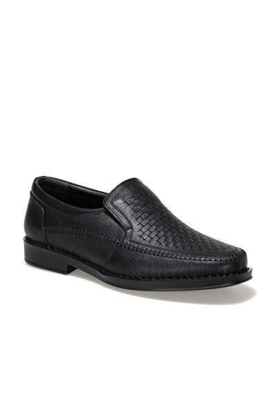 Erkek Siyah Deri Ayakkabı 102308.m 1fx