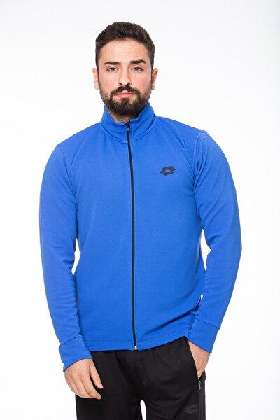 Sweatshirt Erkek Saks Mavi-lacivert-ottoman Sweat Fz Pl-r9654