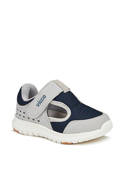 Teo Erkek Çocuk Gri Spor Ayakkabı