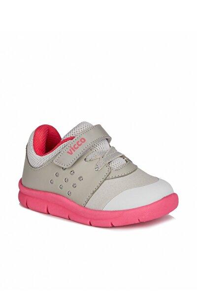 Mario Iı Kız Çocuk Gri/fuşya Spor Ayakkabı