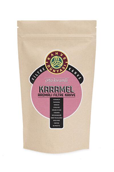 Karamel Aromalı Filtre Kahve  Kağıt Filtre Çekim 250 gr