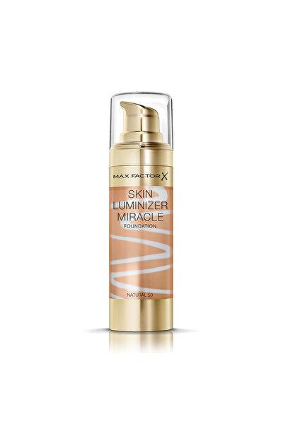 Aydınlatıcı Etkili Fondöten - Skin Luminizer Miracle Foundation 50 Natural 30 ml 4084500158702