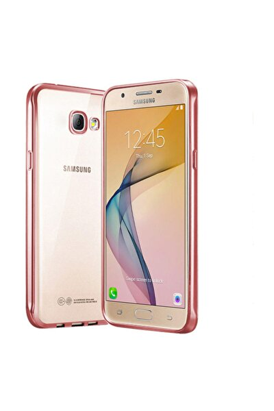 Samsung Galaxy J5 Prime Kılıf Flexi Delux Rose Gold