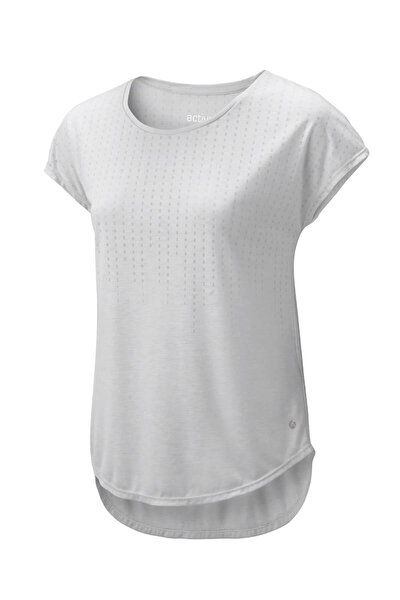 Lenzing Viscose® Spor Tişört, Açık Gri 76961