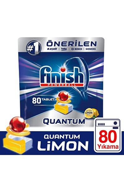 Quantum Bulaşık Makinesi Deterjanı 80 Tablet Limon