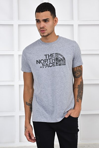 Erkek T-shirt - Gri