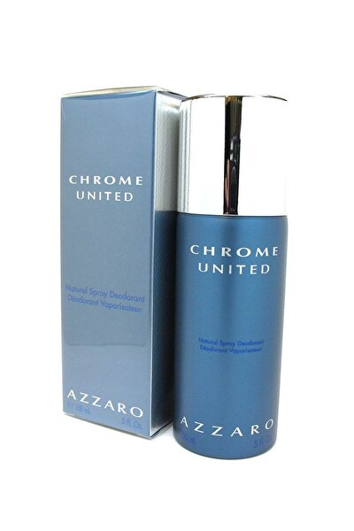 Chrome United 150 ml Erkek Deodorant 3351500957736