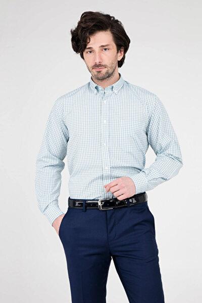 Erkek Yeşil Uzun Kollu Gömlek - 1Gm91Uk1267R 820