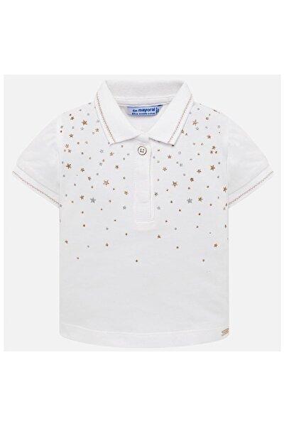 Yazlık Kız Bebek Kısa Kol Polo T-shirt