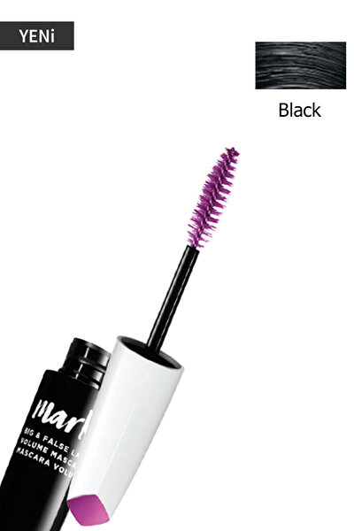 Hacim Veren Siyah Maskara - Mark Big & False Lash Mascara 8681298934325