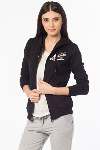 Kadın Siyah Sweatshirt 13026P60