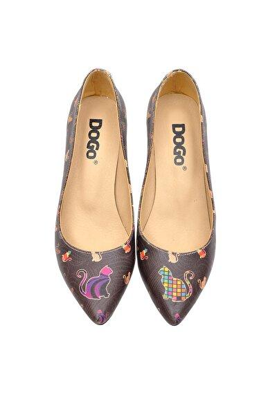 Çok Renkli Kadın Topuklu Ayakkabı DGHH016-STL005