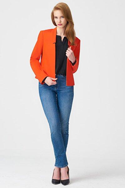 Kadın Turuncu Ceket 17K11111Y232