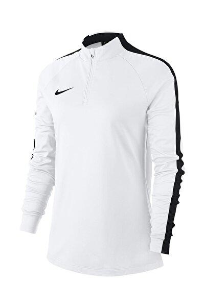 Kadın Sweatshirt - W Nk Dry Acdmy18 Drıl Top Ls - 893710-100